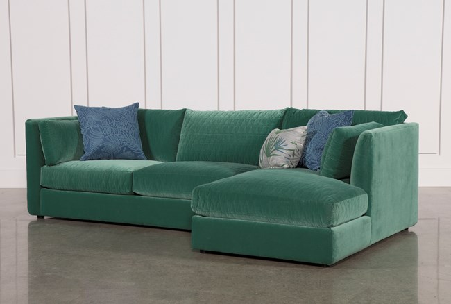 Justina Blakeney Mor 2 Piece Sectional W/Raf Chaise - 360