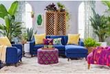 Justina Blakeney Pow Wow Om Ottoman - Room