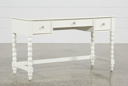 Madison White Desk