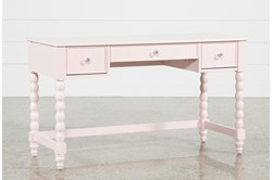 Madison Pink Desk With USB