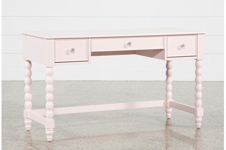 Madison Pink Desk With USB - Main