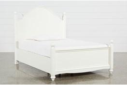 Madison White Full Poster Bed