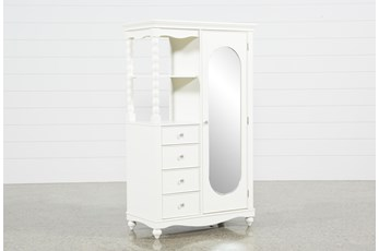Madison White Armoire