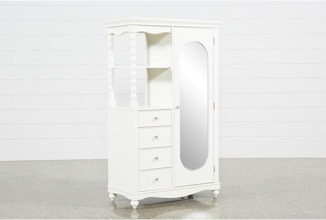 Madison White Armoire - 360