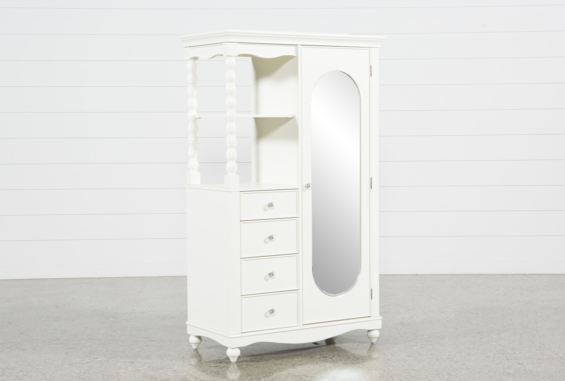 Madison White Armoire (Qty: 1) Has Been Successfully Added To Your Cart.