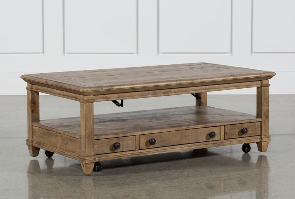 Market Lift-Top Coffee Table