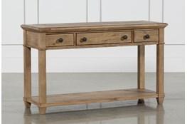 Market Sofa Table