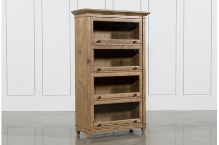 Market Barrister Curio Bookcase - Main