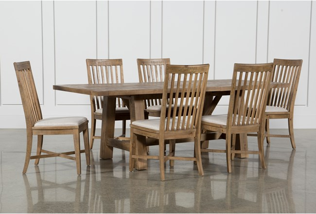 Market 7 Piece Dining Set With Side Chairs - 360