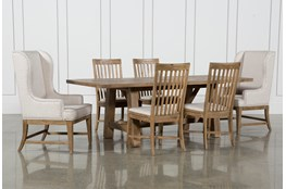 Market 7 Piece Dining Set With Host And Side Chairs