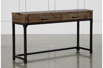 "Foundry Flip-Top 56"" Sofa Table"