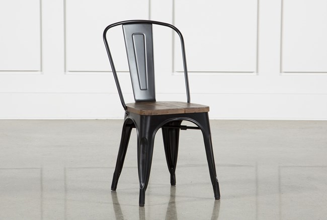 Foundry Metal Side Chair - 360
