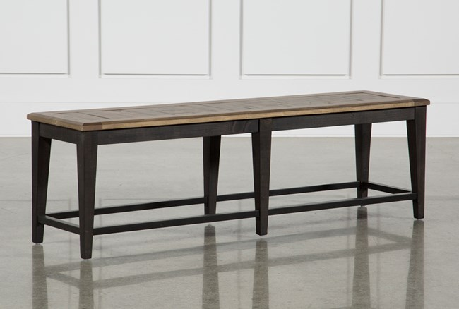 Foundry Wood Bench - 360