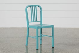Nautical Blue Side Chair