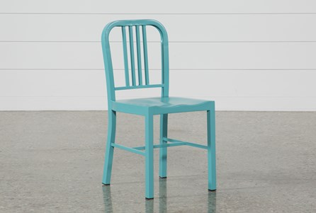 Nautical Blue Side Chair