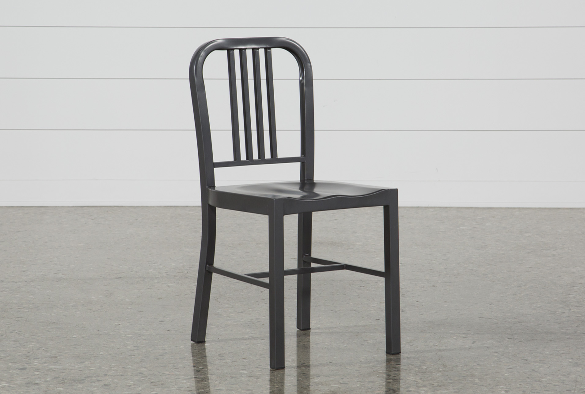 Nautical Gun Metal Side Chair (Qty: 1) Has Been Successfully Added To Your  Cart.