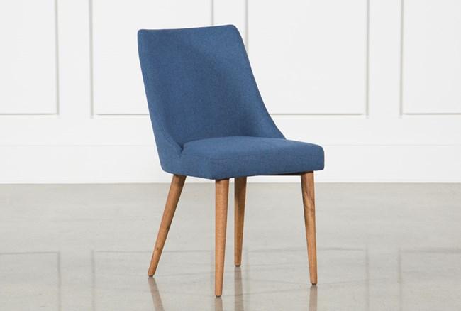 Moda Blue Dining Side Chair - 360
