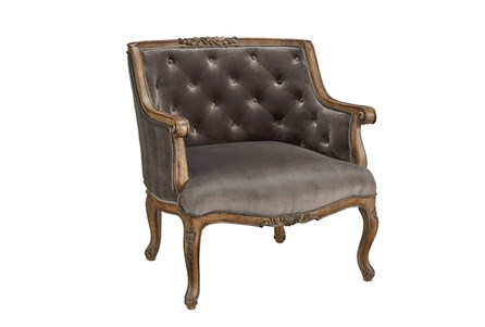 Magnolia Home Bloom Fog Accent Chair By Joanna Gaines