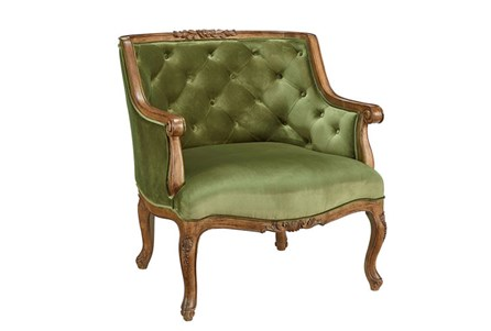 Magnolia Home Bloom Jade Accent Chair By Joanna Gaines