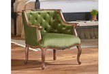 Magnolia Home Bloom Jade Accent Chair By Joanna Gaines - Room