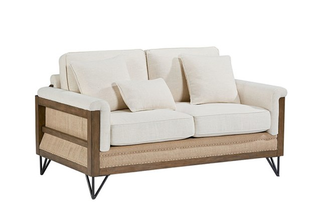 Magnolia Home Paradigm Loveseat By Joanna Gaines - 360