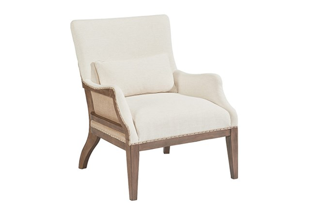 Magnolia Home Renew Ivory Accent Chair By Joanna Gaines - 360