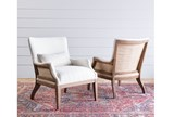 Magnolia Home Renew Ivory Accent Chair By Joanna Gaines - Room