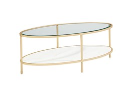 Magnolia Home Ellipse Coffee Table By Joanna Gaines