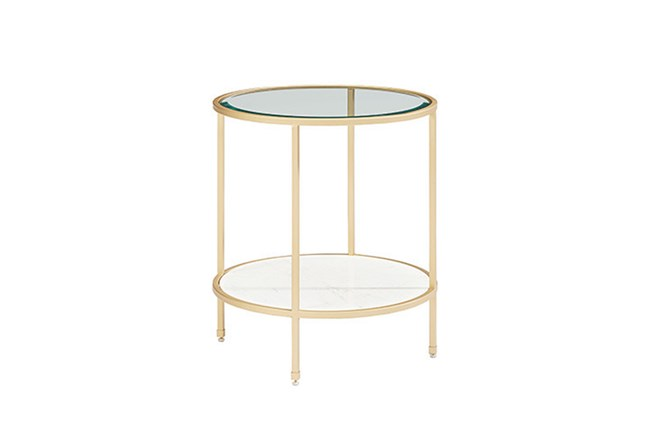 Magnolia Home Ellipse End Table By Joanna Gaines - 360