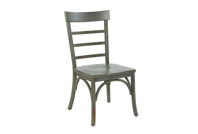 Magnolia Home Harper Patina Dining Side Chair By Joanna Gaines - 360