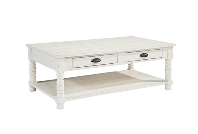 Magnolia Home Bobbin Cocktail Table By Joanna Gaines - 360