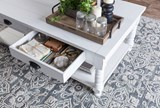 Magnolia Home Bobbin Cocktail Table By Joanna Gaines - Room