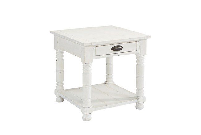 Magnolia Home Bobbin End Table By Joanna Gaines - 360