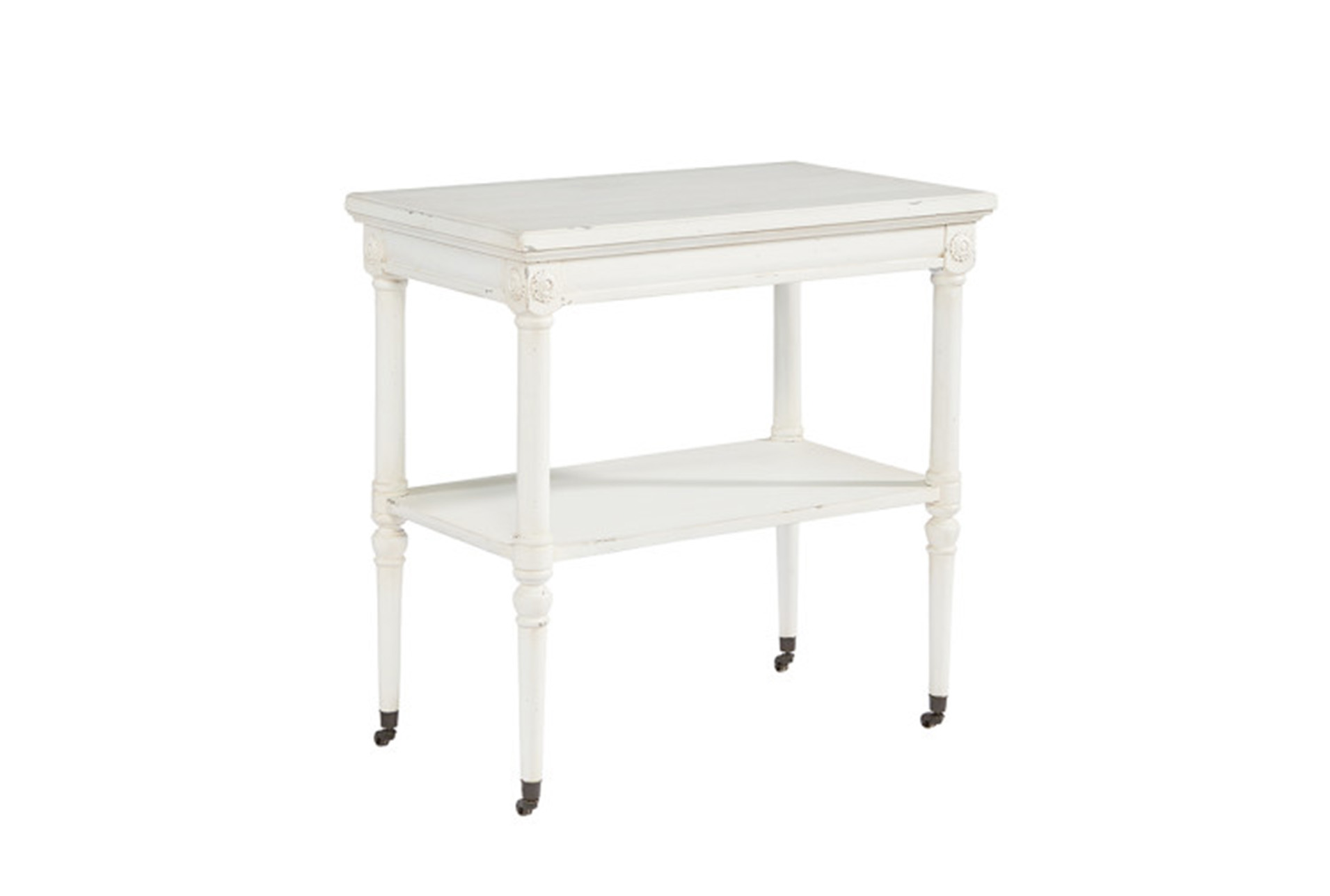 - Magnolia Home Petite Rosette White Accent Table By Joanna Gaines Living  Spaces