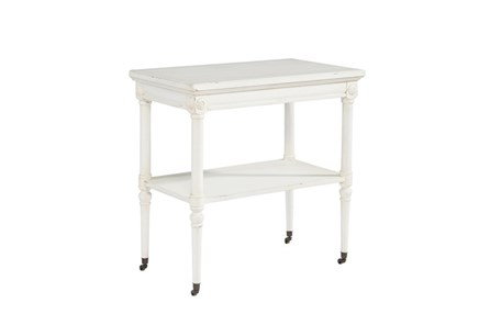Magnolia Home Petite Rosette White Accent Table By Joanna Gaines - Main
