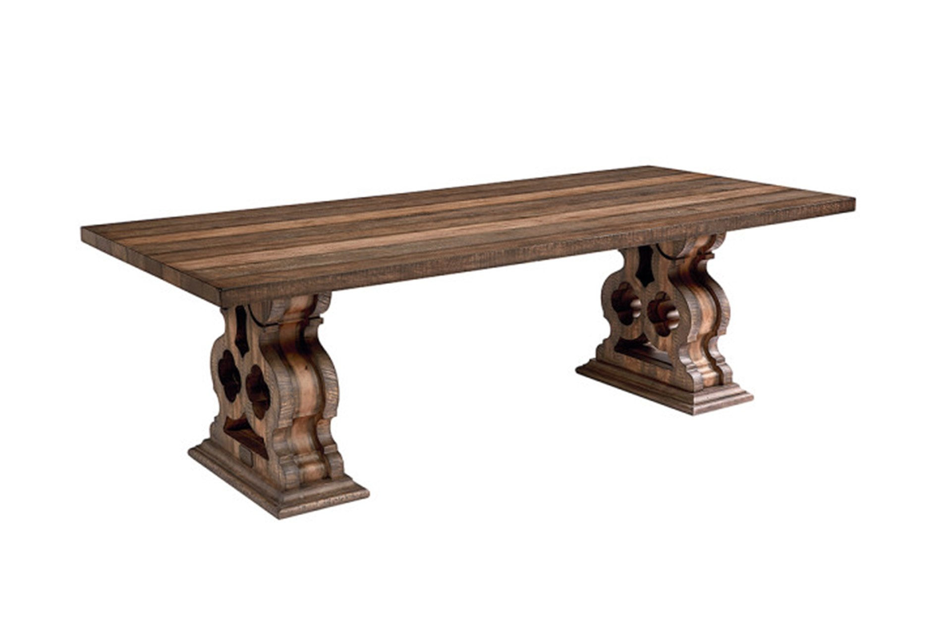 Display Product Reviews For KIT MAGNOLIA HOME DOUBLE PEDESTAL DINING TABLE BJG