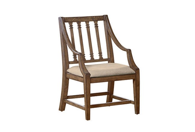 Magnolia Home Revival Dining Arm Chair By Joanna Gaines - 360