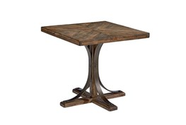 Magnolia Home Iron Trestle End Table By Joanna Gaines
