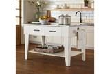 Magnolia Home Jo'S White Kitchen Island By Joanna Gaines - Room