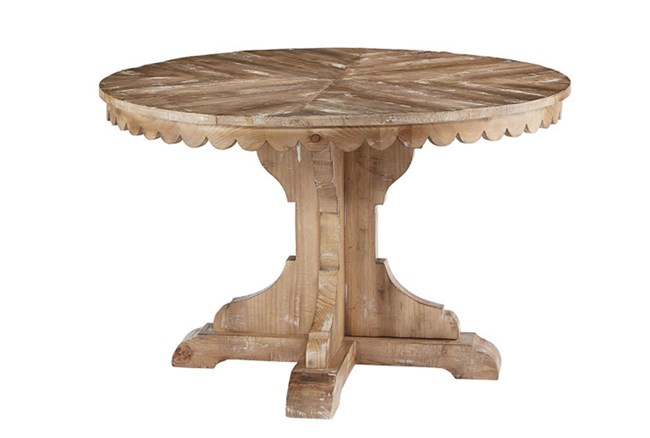 Magnolia Home Top Tier Round Dining Table By Joanna Gaines - 360