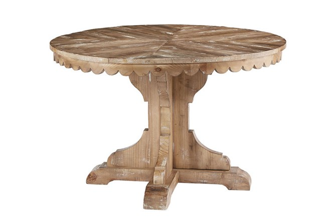 Magnolia Home Top Tier Round Dining Table By Joanna Gaines Living