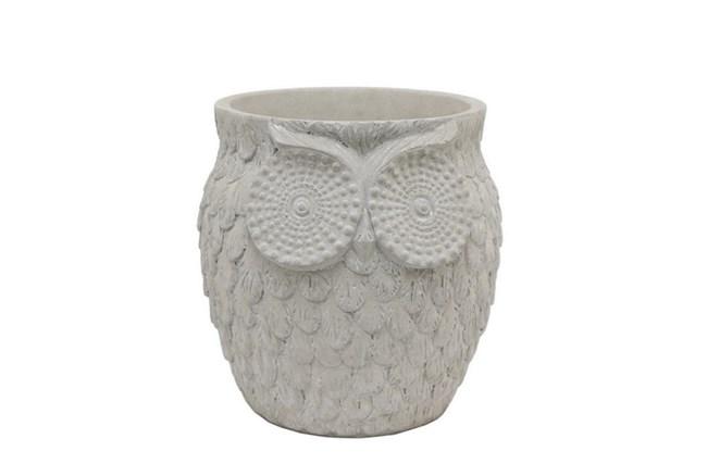 9 Inch Owl Planter - 360