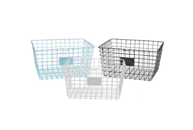 Youth-12 Inch Metal Basket - 360