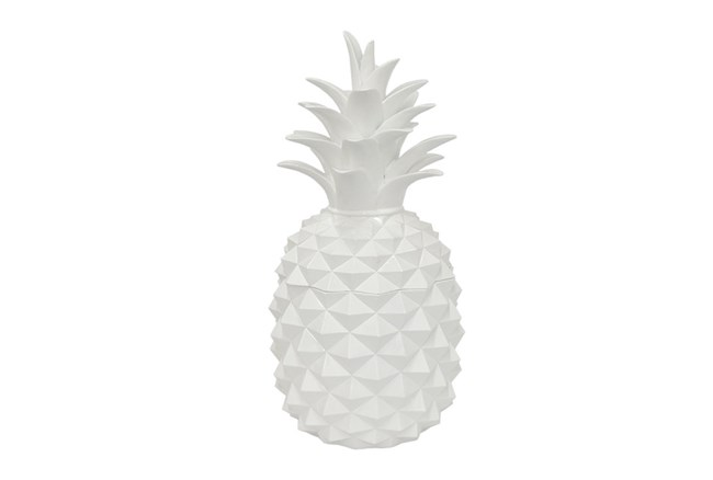 12 Inch Resin Pineapple Jar - 360