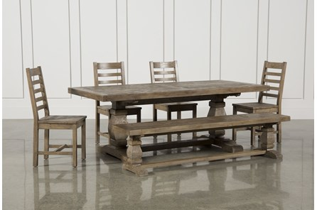 Caden 6 Piece Rectangle Dining Set - Main
