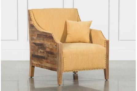 Gingham Studded Chair - Main
