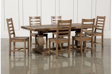 Caden 7 Piece Rectangle Dining Set