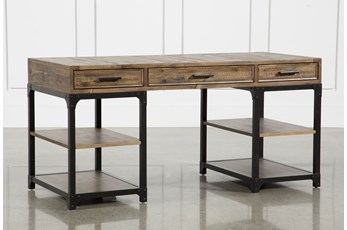 "Foundry 63"" Writing Desk"