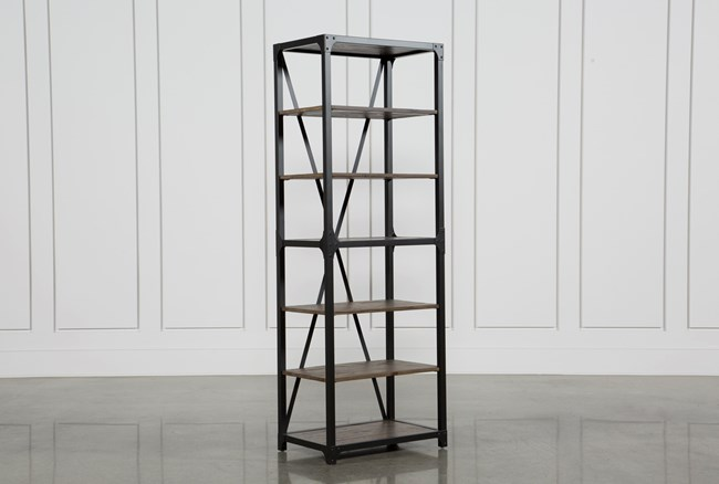 Foundry 78 Inch Bookcase - 360