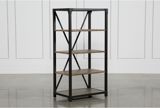 Foundry 53 Inch Bookcase - 360